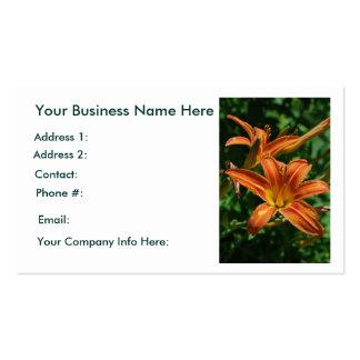 Daylily Business Cards