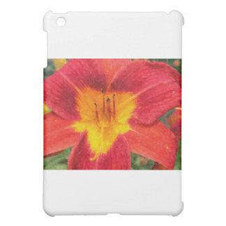 Daylily closeup iPad mini cases
