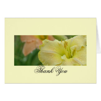 Daylily Dreams Thank You Card