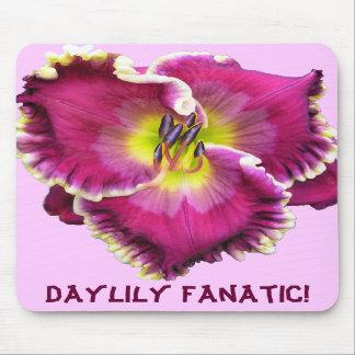 Daylily Fanatic! Mousepad