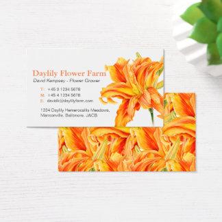 Daylily farmer / flower grower business cards
