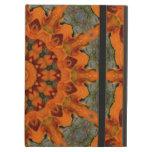 Daylily Orange Mandala iPad Air Cases