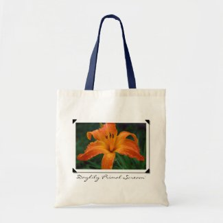 Daylily 'Primal Scream' Bag bag