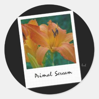 Daylily 'Primal Scream' Sticker