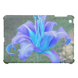 Daylily: Purple N Blue iPad case