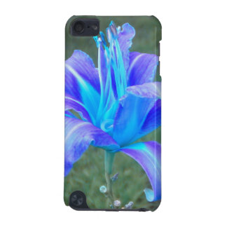 Daylily: Purple N Blue iPod Touch case