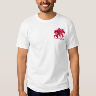 """Daylily """"Scattering Quarks"""" T-shirt"""