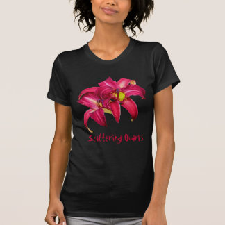 """Daylily """"Scattering Quarks"""" Tee Shirt"""