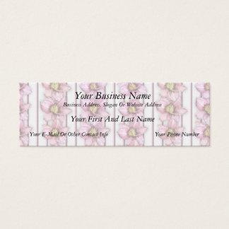Daylily Stripes Mini Business Card