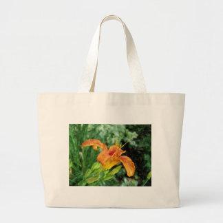 Daylily Totebag Large Tote Bag