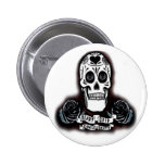 dayofthedeadcutout pinback buttons