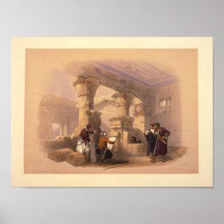 Dayr el Medeeneh--Thebes Poster