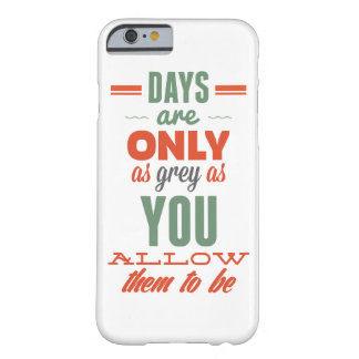 Days are!Vintage Typography iPhone 6 Case