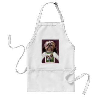 Days are wide open painting.jpg adult apron