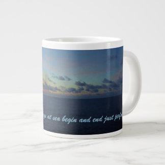 Days at Sea Custom Giant Coffee Mug