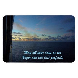 Days at Sea Custom Rectangular Photo Magnet