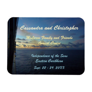 Days at Sea Stateroom Door Marker Rectangular Photo Magnet