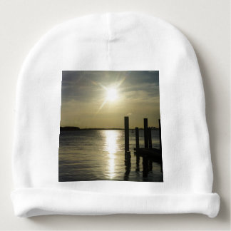 Days End At Cooper River Baby Beanie