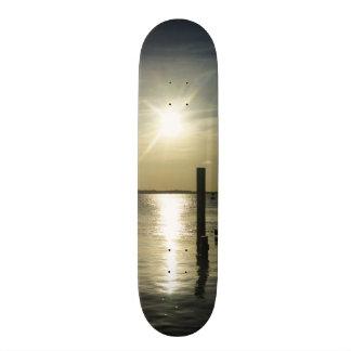 Days End At Cooper River Skateboard