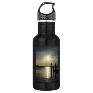 Days End At Cooper River Water Bottle