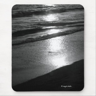 Day's End at Dog Beach B/W Mousepad