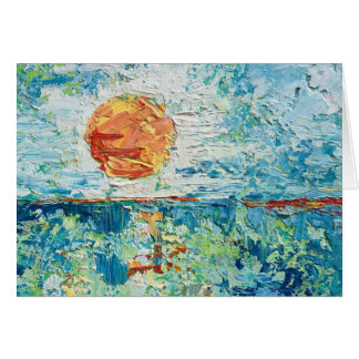"""""""Day's End"""" by Chris Rice Note Cards"""