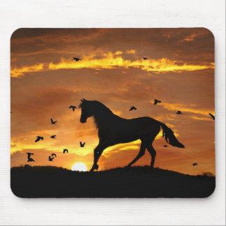 Day's End Horse Mousepad Mousepads