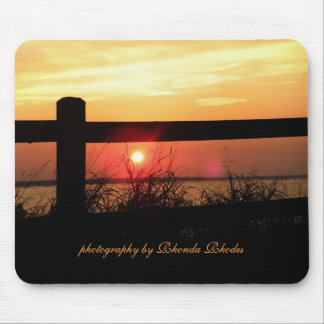 Day's End, photography by Rhonda Rhodes Mouse Pad
