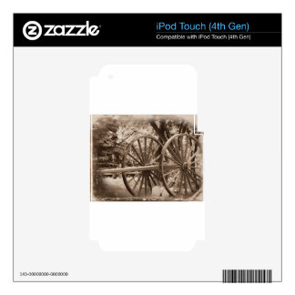 Days Gone By Skin For iPod Touch 4G