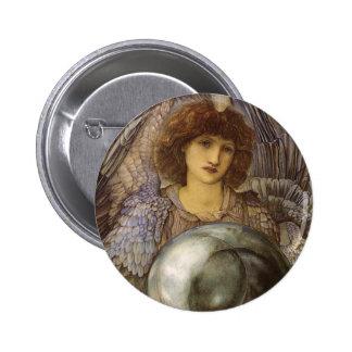 Days of Creation 1st Day, Burne Jones, Vintage Art Pin
