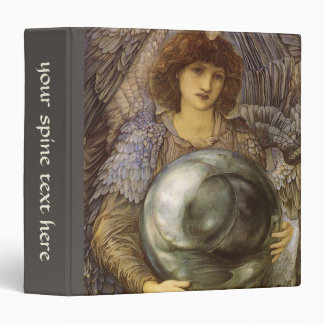 Days of Creation, First Day by Burne Jones 3 Ring Binder