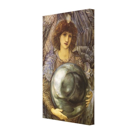 Days of Creation, First Day by Burne Jones Canvas Print