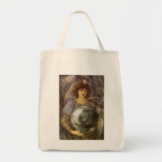 Days of Creation, First Day by Burne Jones Grocery Tote Bag