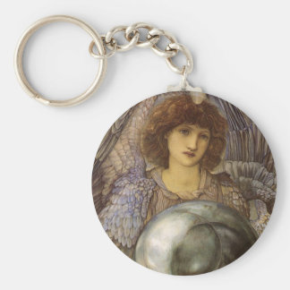 Days of Creation, First Day by Burne Jones Keychain