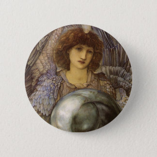 Days of Creation, First Day by Burne Jones Pinback Button