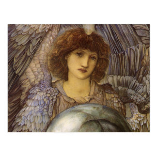 Days of Creation, First Day by Burne Jones Postcard
