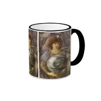 Days of Creation, First Day by Burne Jones Ringer Coffee Mug