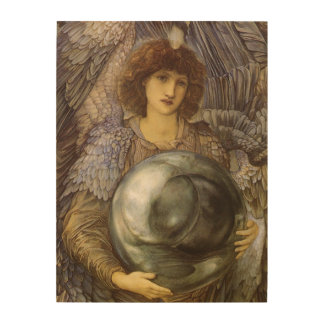 Days of Creation, First Day by Burne Jones Wood Wall Art