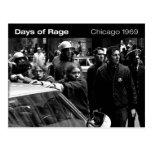 Days of Rage Postcard