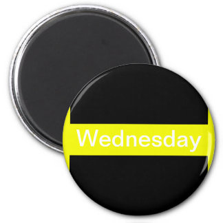 Days of the Week Color Coded Calendar Visual Tools Magnet