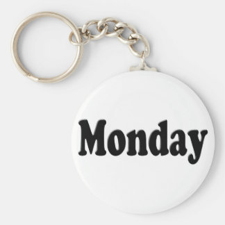 Days of the Week - Monday Keychain