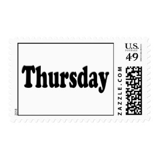 Days of the Week -  Thursday Postage