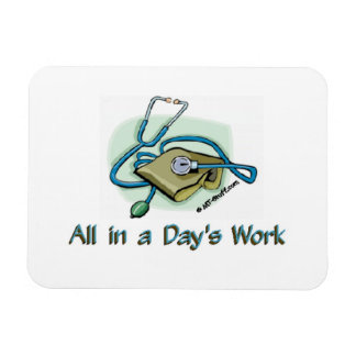 Days Work 1 Magnet