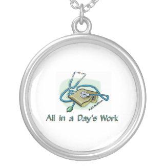 Days Work 1 Custom Necklace