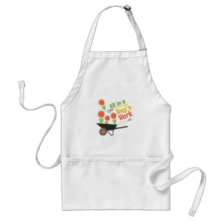 Day's work adult apron