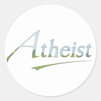 Daytime Atheist Classic Round Sticker