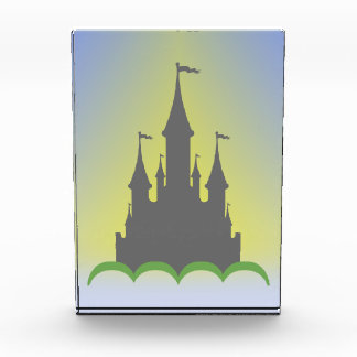 Daytime Dreamy Castle In The Hills Sunny Sky Acrylic Award
