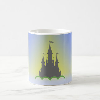 Daytime Dreamy Castle In The Hills Sunny Sky Coffee Mug