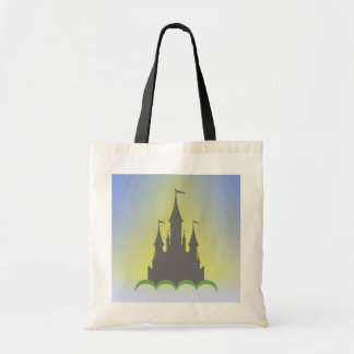 Daytime Dreamy Castle In The Hills Sunny Sky Tote Bag