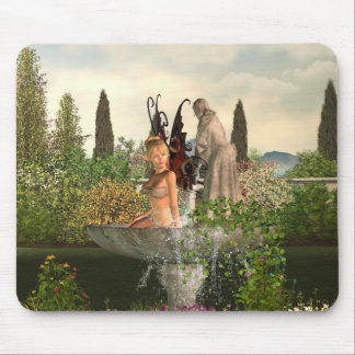 Daytime Garden Fairy Mouse Pad